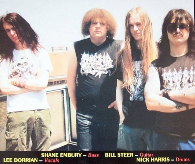 Napalm Death Back